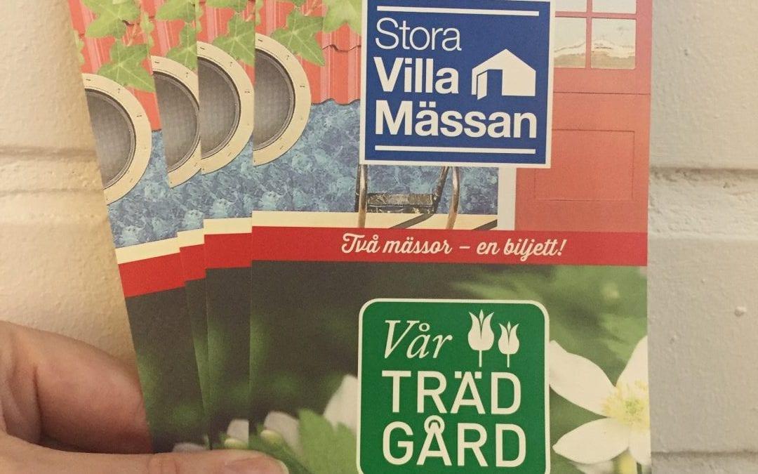 Vinn biljetter till Stora Villamässan i Malmö