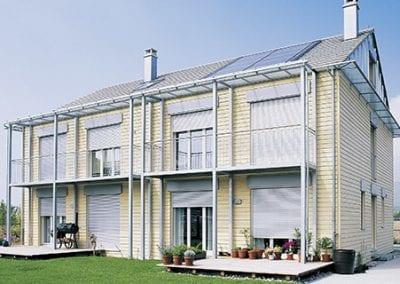 Fönsterjalusi aluminium utomhus
